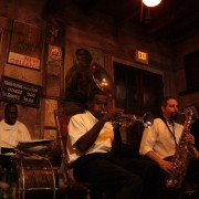 Jam with New Birth Brass Band at Preservation Hall in New Orleans, Oct 2009