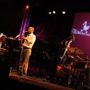 Paolo Recchia Quartet special guest Dado Moroni at Villa Celimontana Jazz Festival, Roma 2009