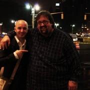 with Joey De Francesco in New York