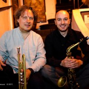 with Alex Sipiagin at Alexanderplatz Jazz Club in Rome, 2011