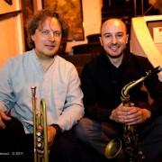 with Alex Sipiagin at Alexanderplatz Jazz Club in Rome, 2011