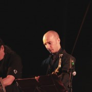 with Javier Girotto&Six Sax at Lioni Jazz 2010