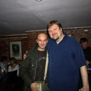 with Joel Frahm, New Yok 2010