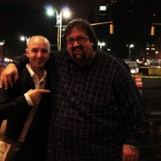 with Joey De Francesco in New York