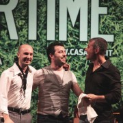 with Lorenzo Tucci Touch Three, 22-07-10 at Casa del Jazz, Roma
