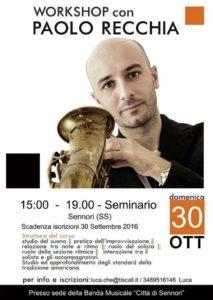 Workshop Paolo Recchia Sennori