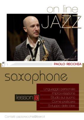Paolo Recchia Lezioni Online SAX